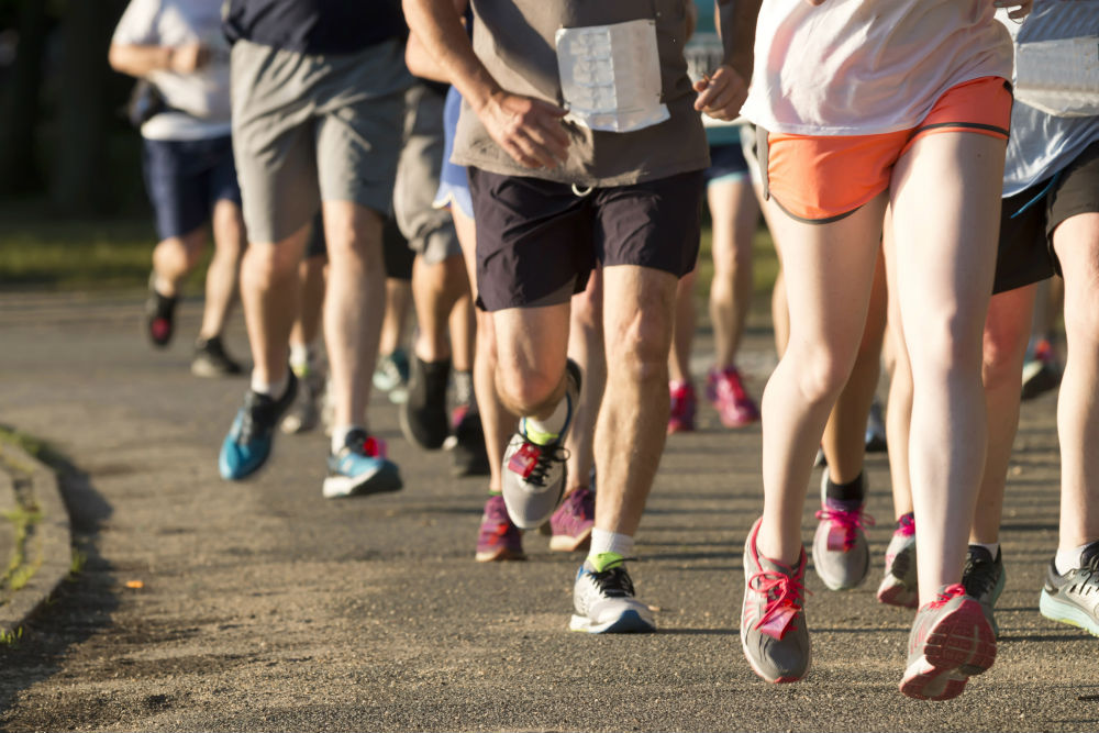 running stride