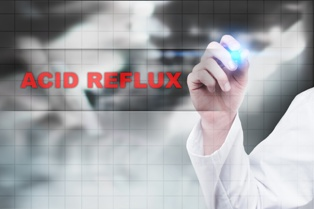 Acid Reflux Text and Graph