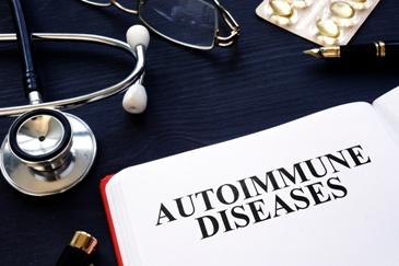 Autoimmine Disease Book and Stethoscope