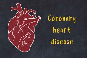 Coronary Heart Disease With a Heart