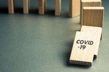 Covid-19 Wooden Dominos