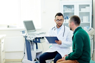 Doctor Talking to a Patient About IVC Filter Complications