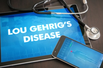 Lou Gehrig's Disease Diagnosis and Stethoscope