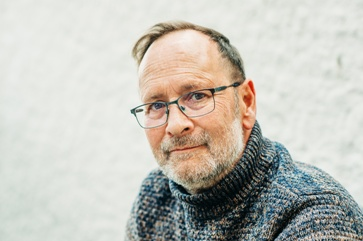 Man With Glasses in His 50s
