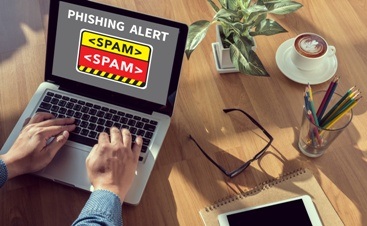 Phishing Alert Spam Button
