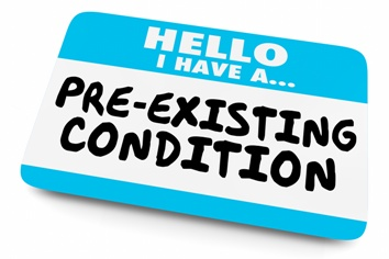 Workers' Compensation Pre-Existing Condition Sticker