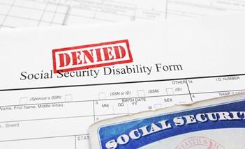 Social Security Disability Denial Form