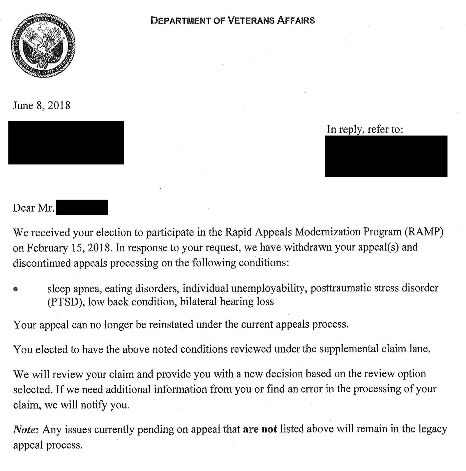 What That Confusing Letter From VA Means | Sean Kendall