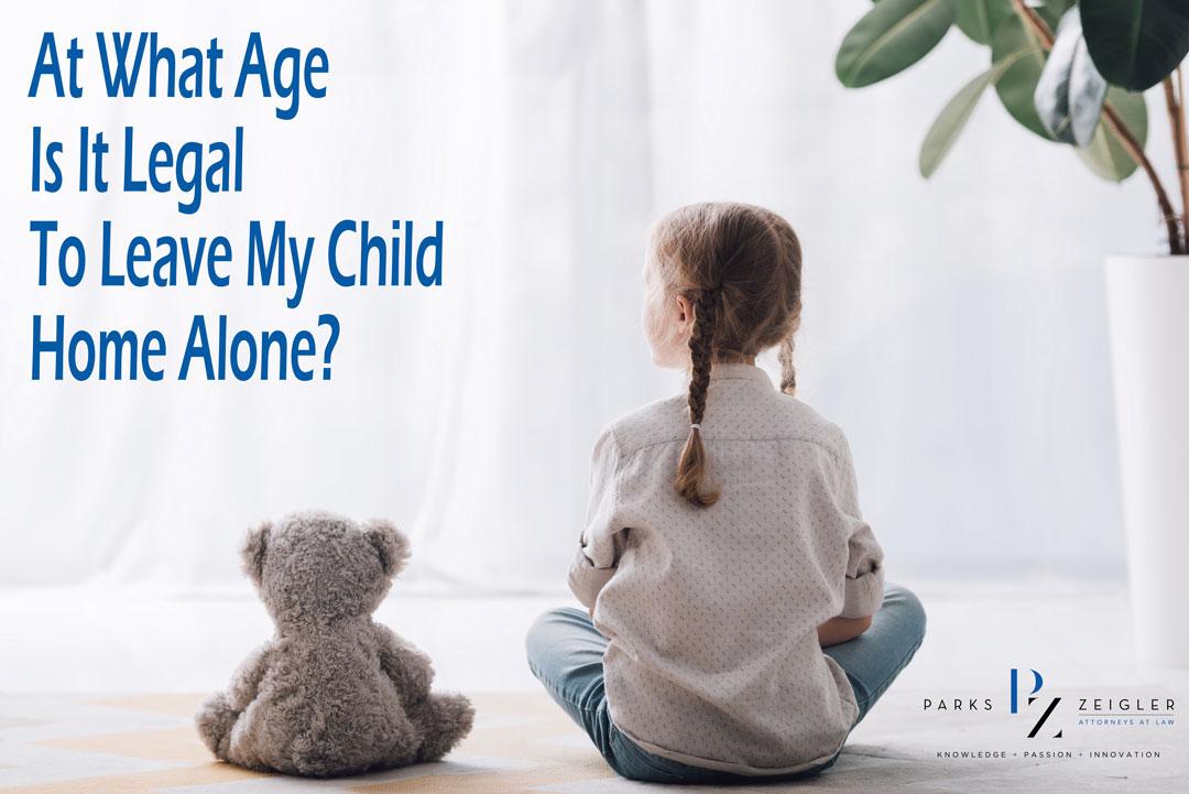 Child home alone