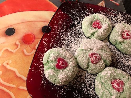 Deb's Grinch Cookies