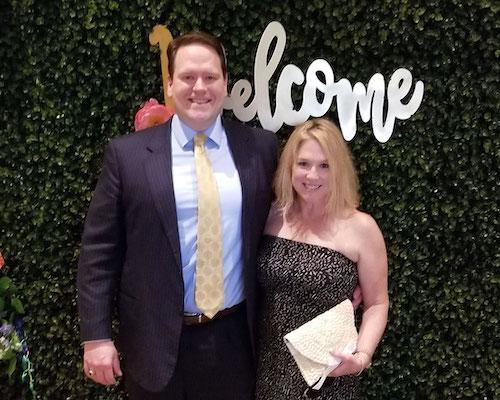 Kellam and Kelly at the Virginia Beach Bar Association Gala