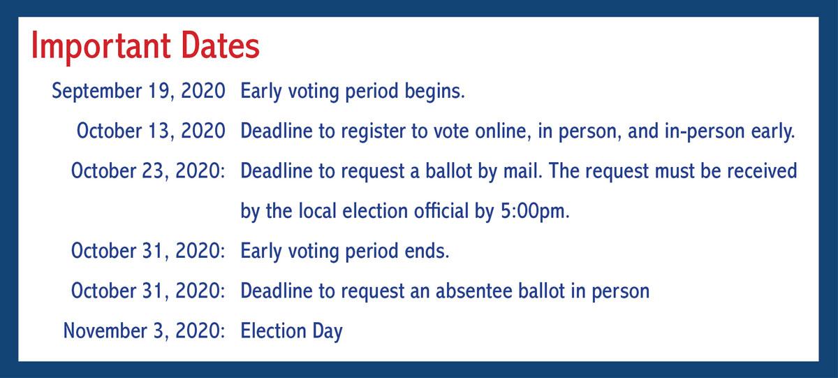 Important Dates 2020 Election Virginia