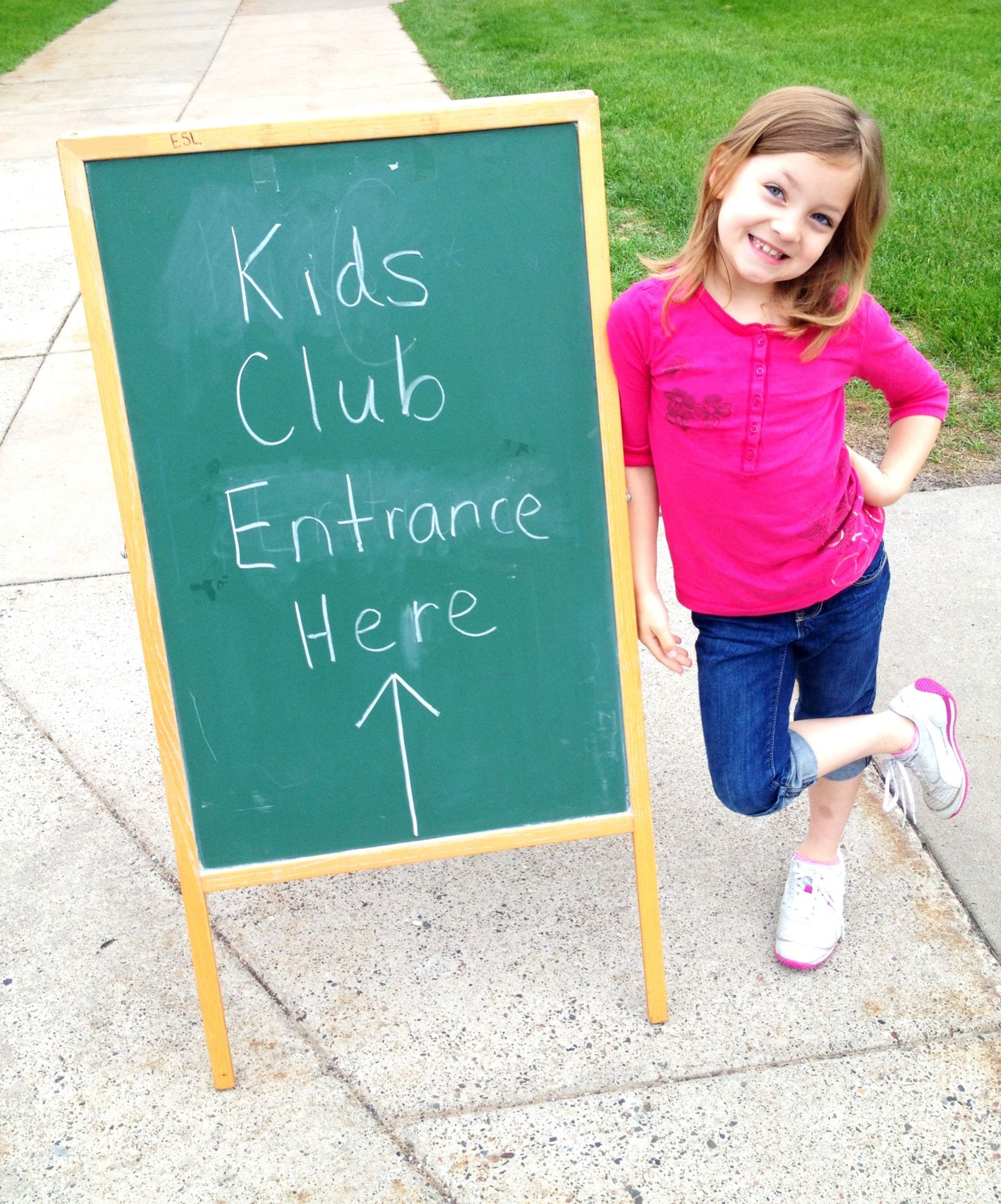 Kids Club Entrance