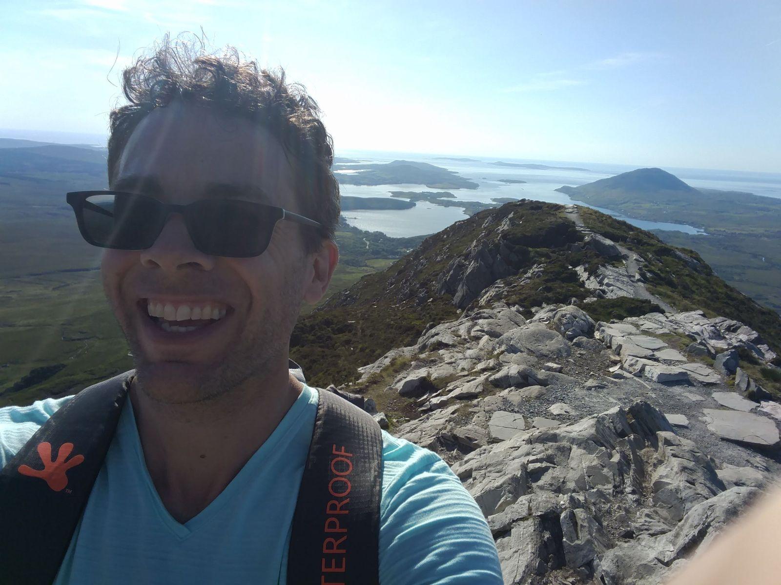 Dan Bedard on Mt. Brandon