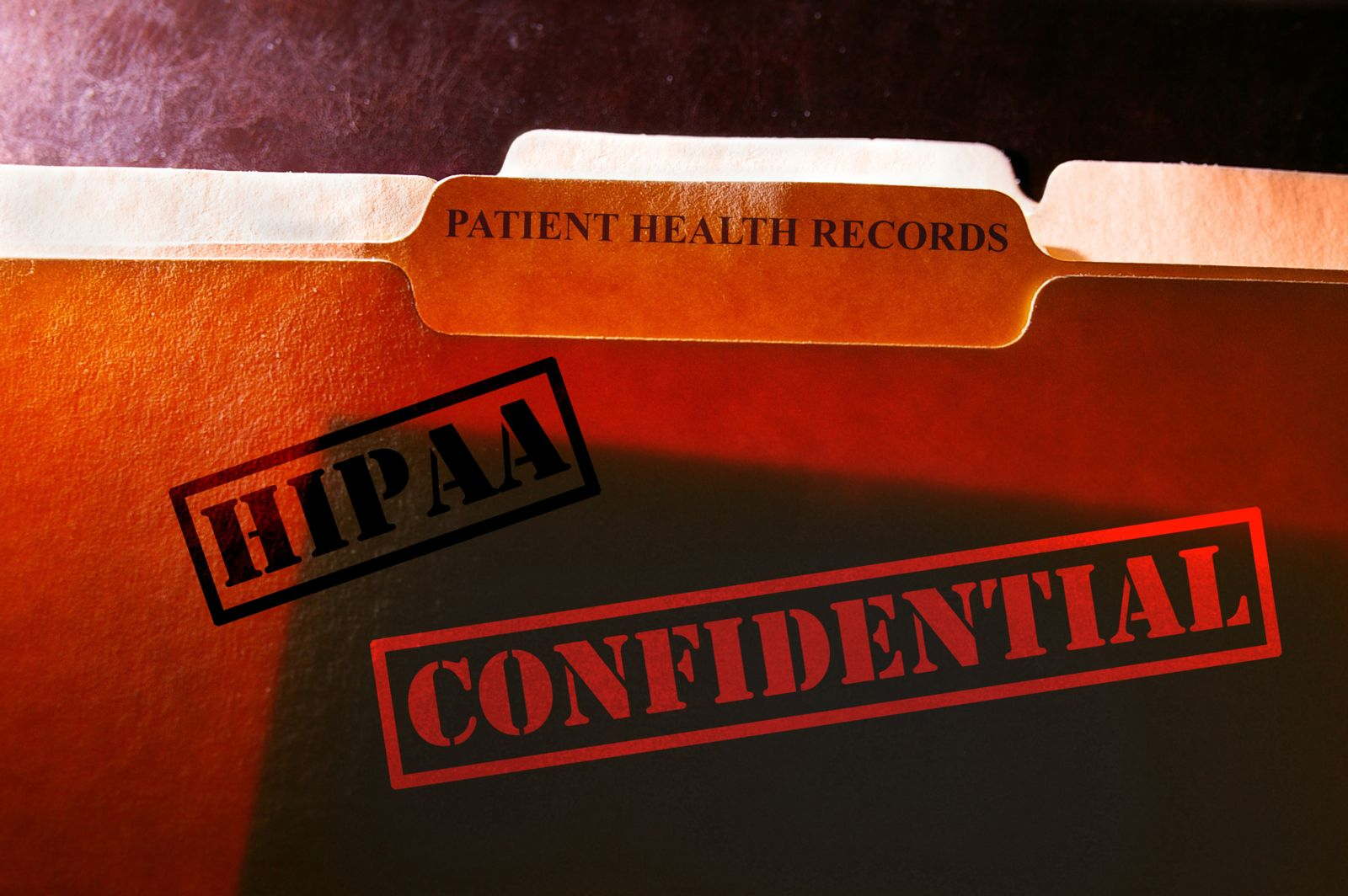 HIPAA Confidential Patient Health Records