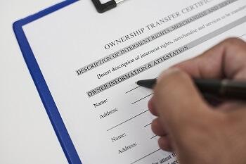 Payable on death designation