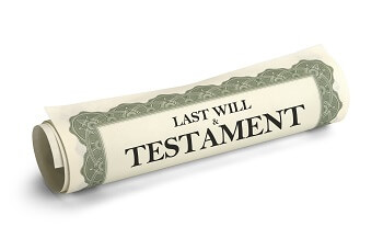North Carolina last will and testament document