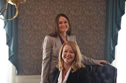Attorneys Gretchen Taylor and Ann Thayer of Fairfax VA