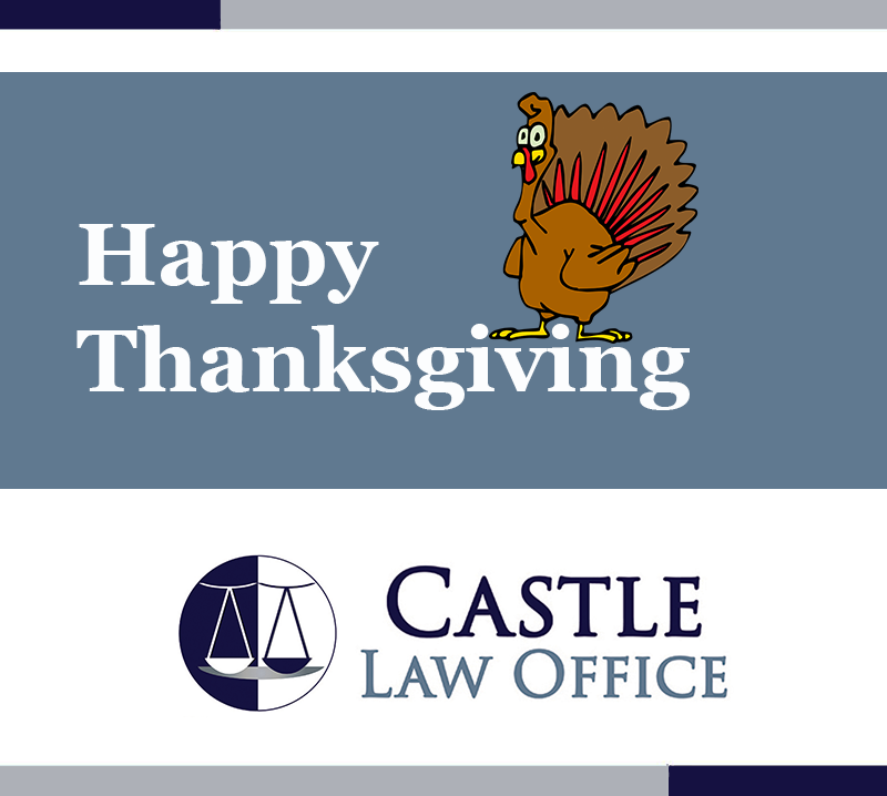 Happy Thanksgiving from Castle Law in Kansas City