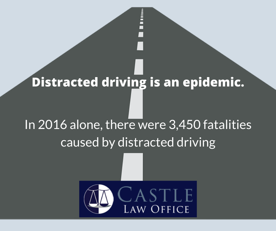 distracted driving is an epidemic