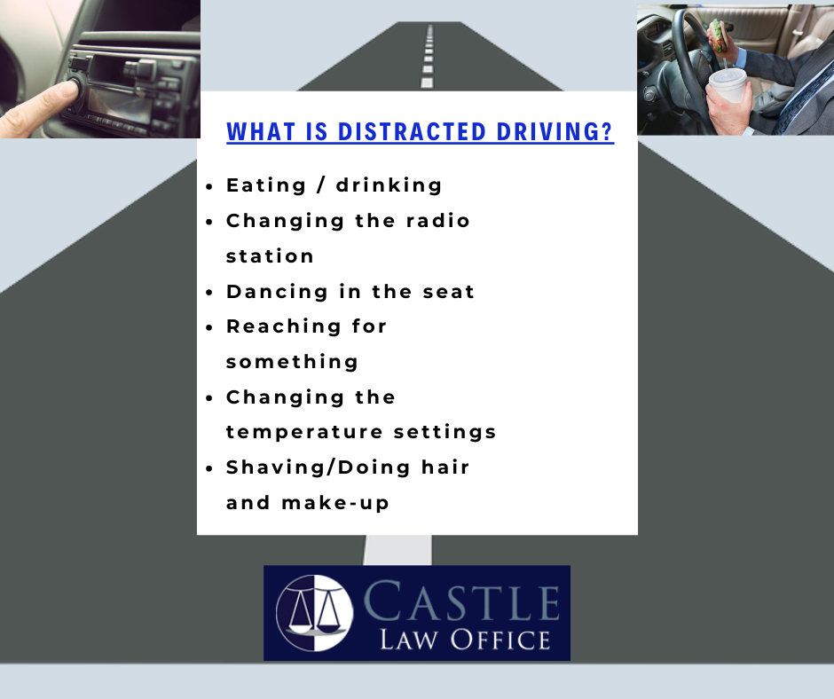 what is distracted driving in kansas city