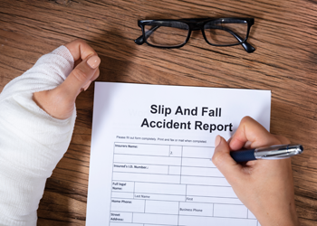 Kansas City personal injury attorneys for a slip & fall case