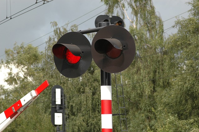 Railroad Crossing Gate and Lights