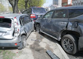 multi-car accident claim Kansas City