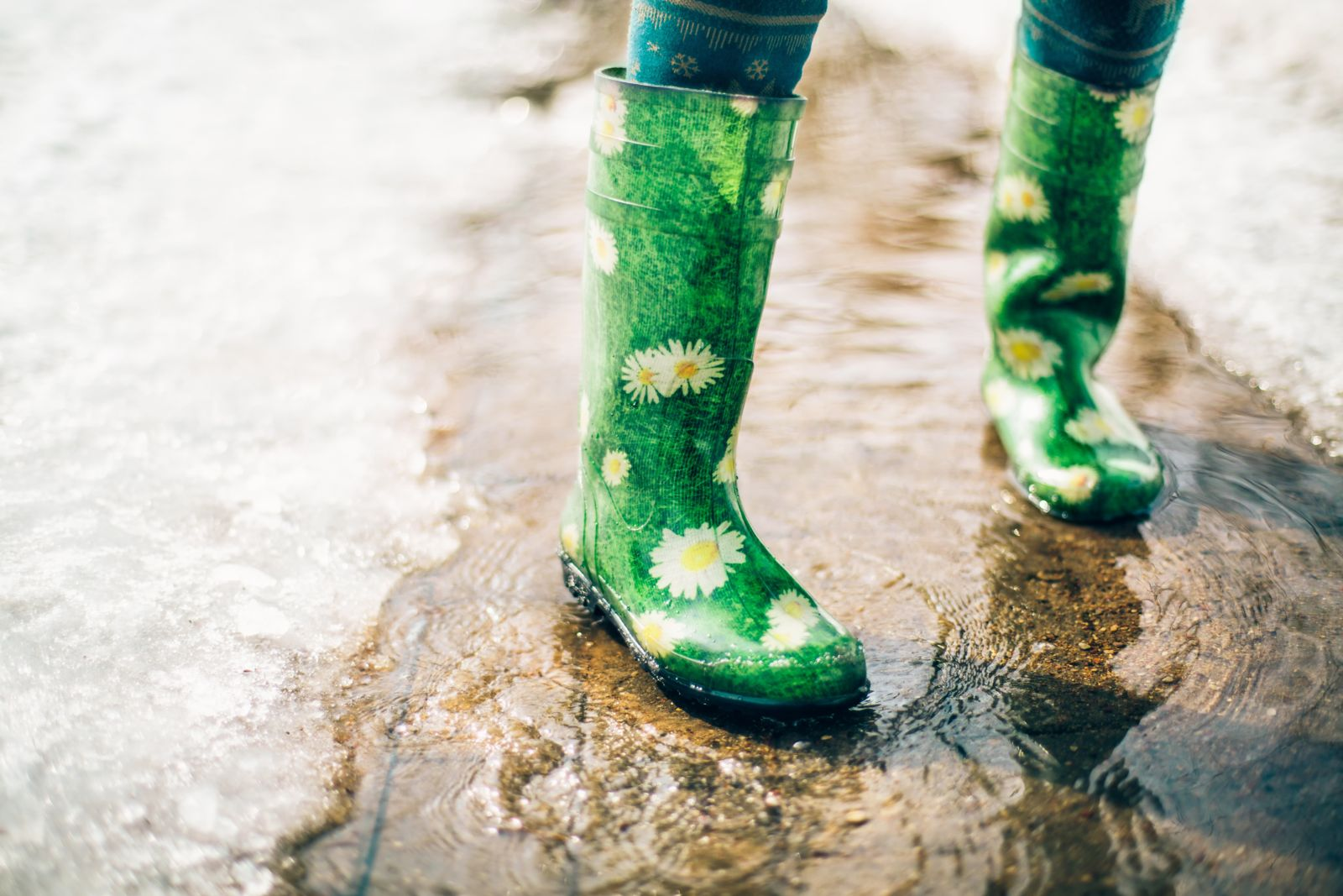 If your feet stay in wet boots for extended periods of time, you're increasing your risk of foot infection