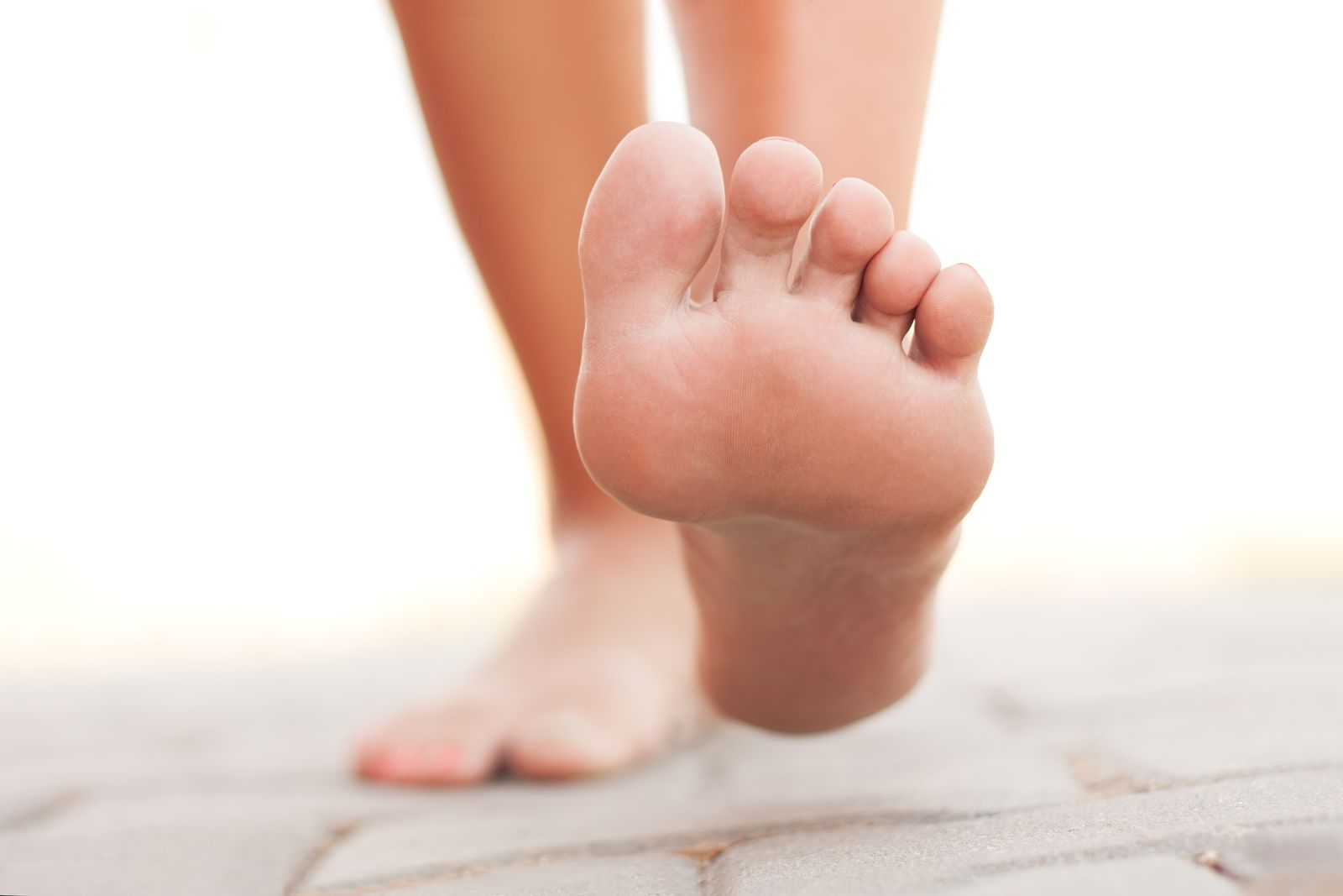 Bare feet on your yoga mat could be a dangerous combo, unless you practice proper cleaning techniques