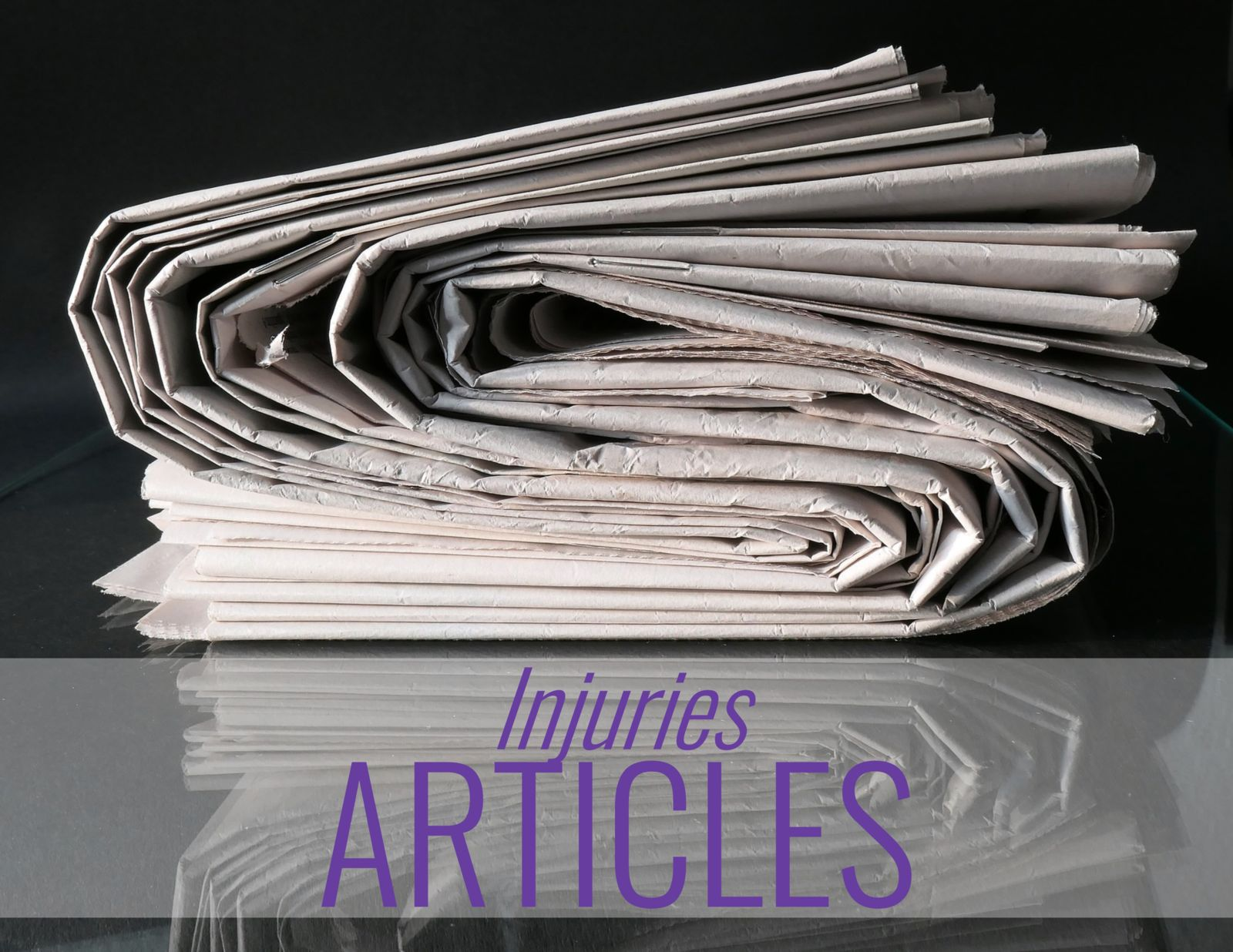 newspapers and the words: Injuries Articles