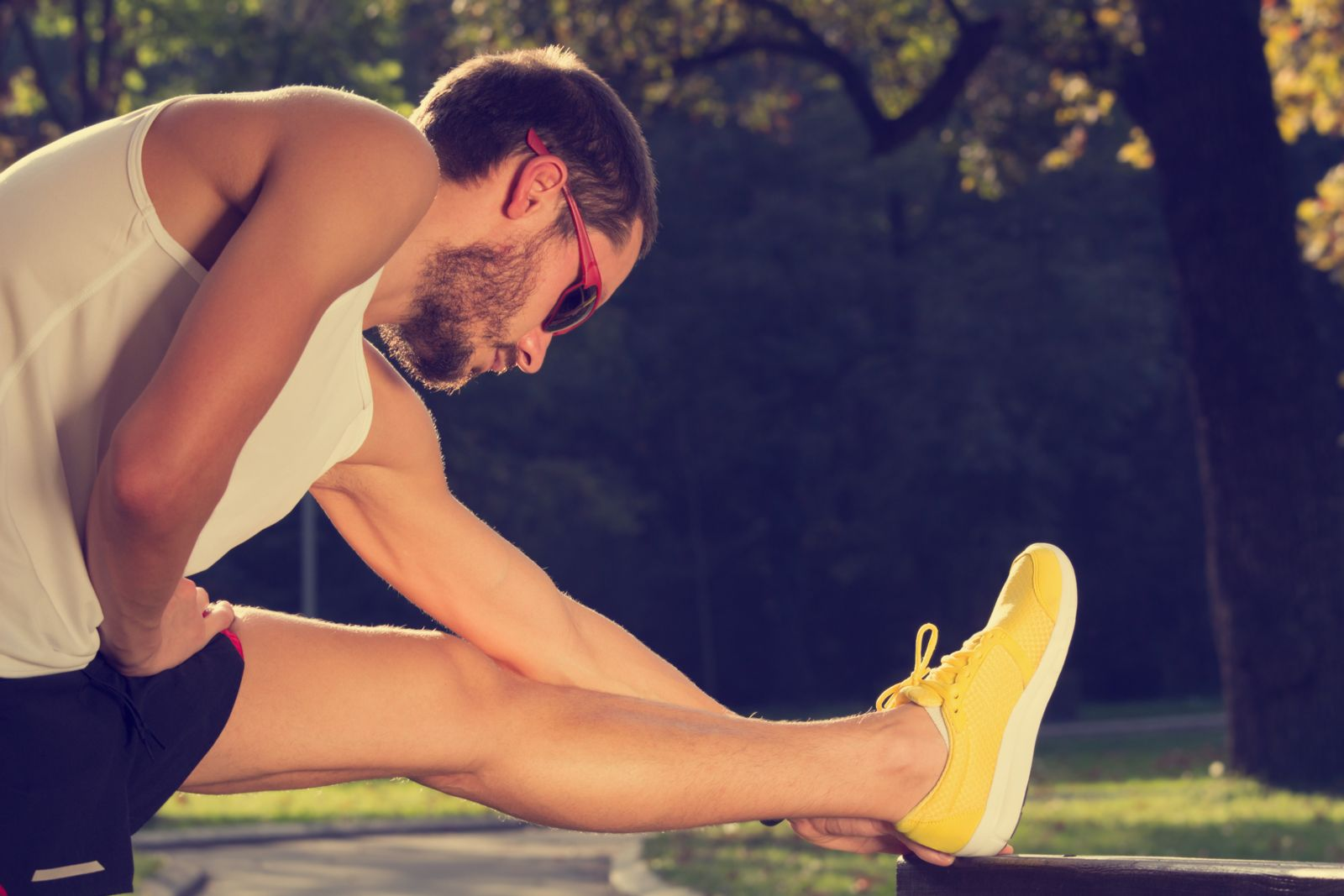 Precautions like stretching before and after a run can also help prevent injuries