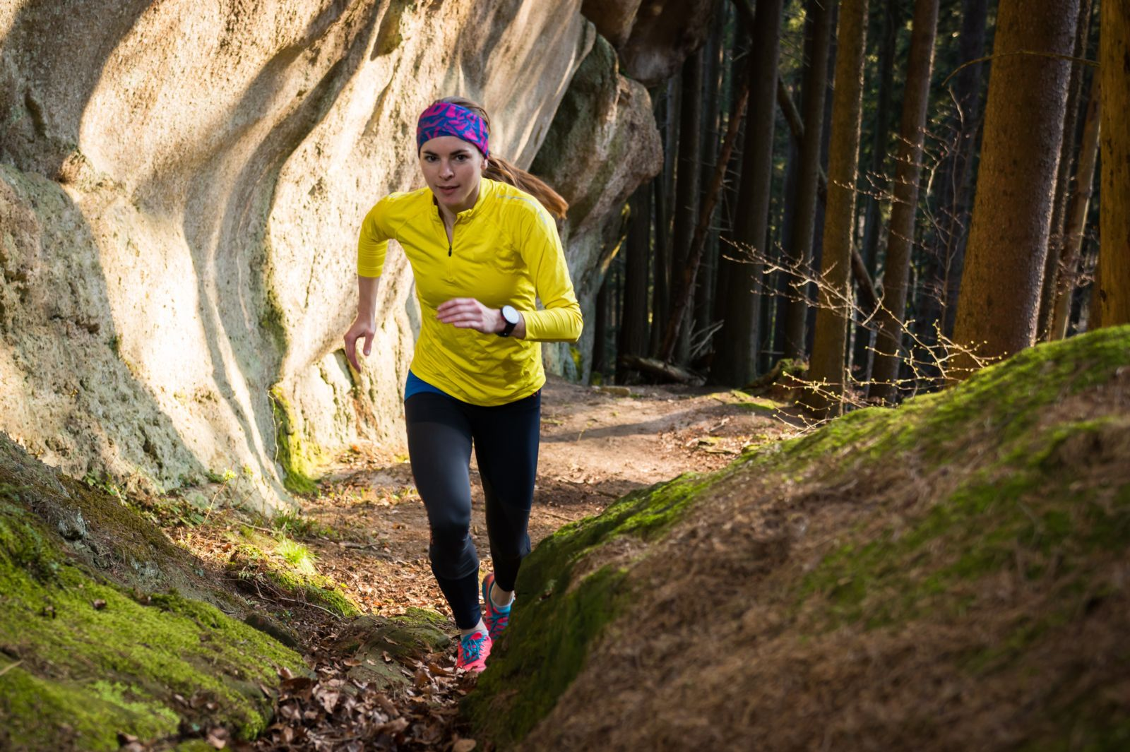 Heading out to run the trails? Make sure to stretch before you start!