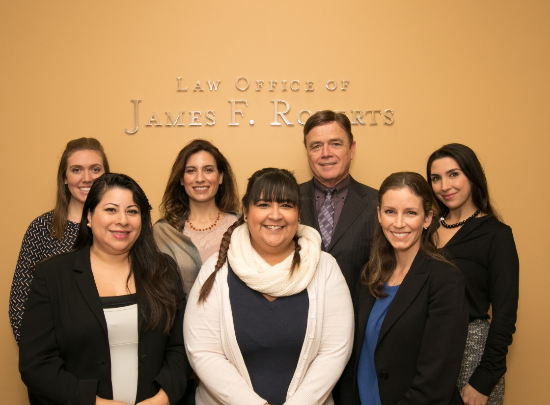 Staff Members of the Law Office of James F. Roberts