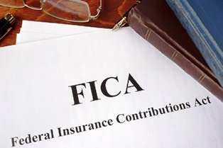 FICA work credits for SSDI