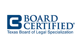Texas Board Certification for Walter M. Reaves