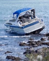 Boat crash in Myrtle Beach