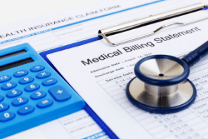 Medical bills after brain injury