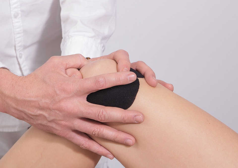 knee physical therapy after a work injury