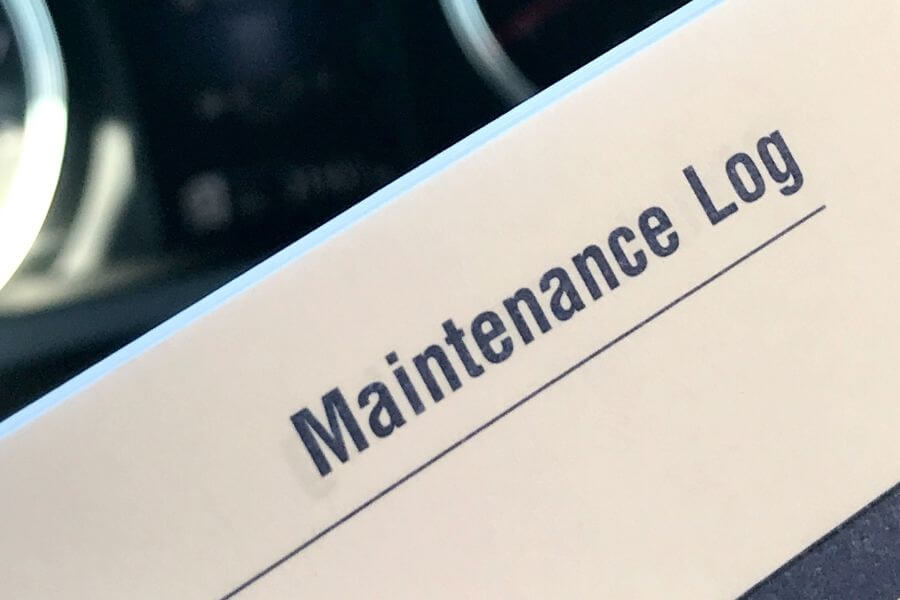 maintenance log for truck drivers