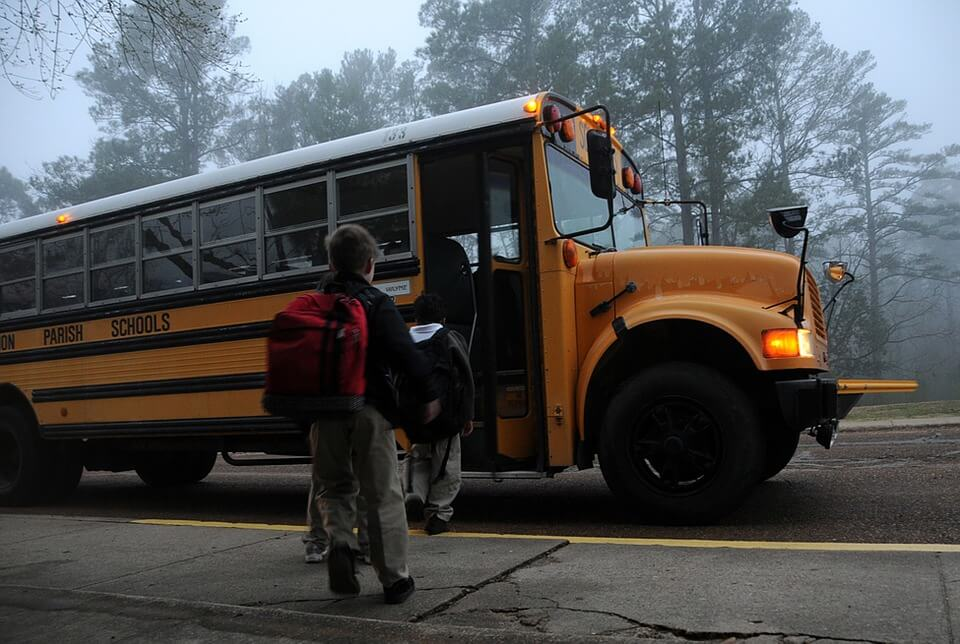 School bus fires in south carolina