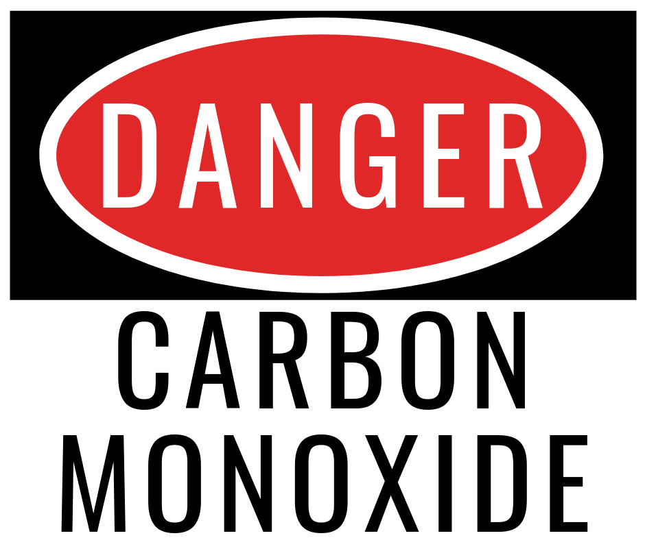 Carbon monoxide poisoning danger signs