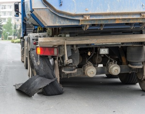When Semi-Truck Tires Explode, Serious Accidents Can Result
