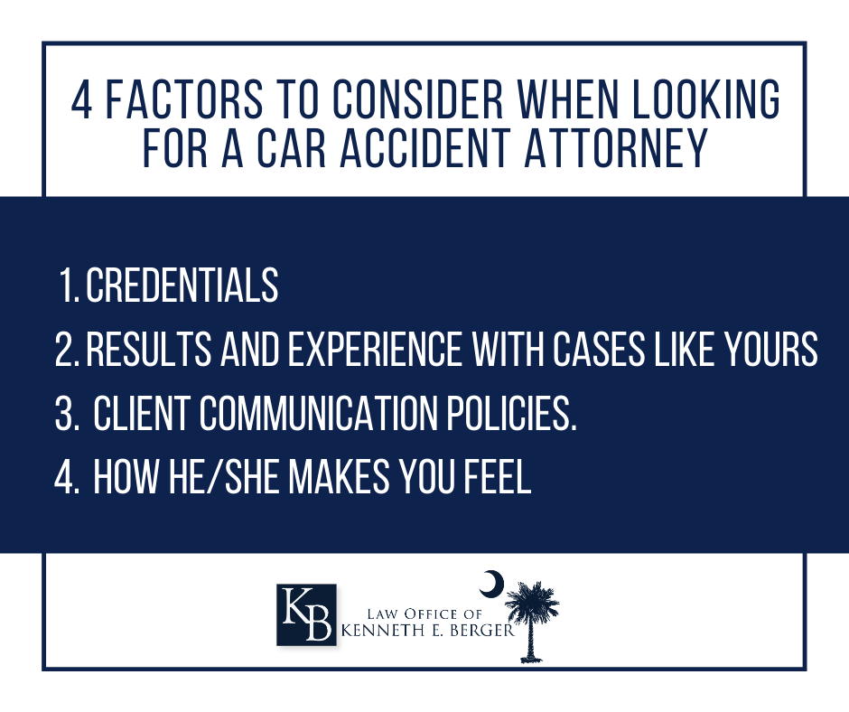 4 Things to Look for in a Car Accident Lawyer