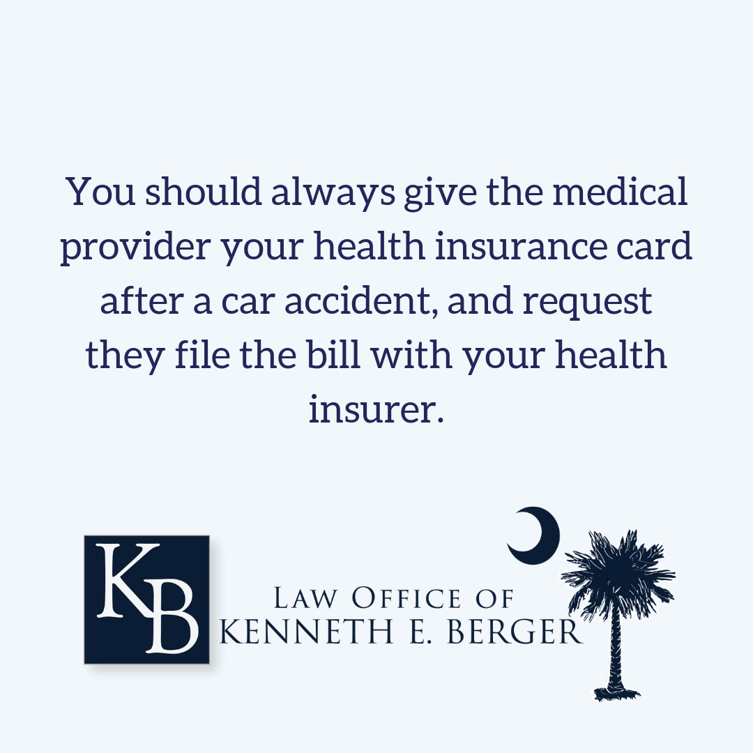 Always use health insurance after a car accident