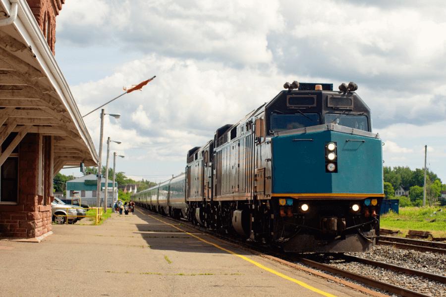 Train at SC station