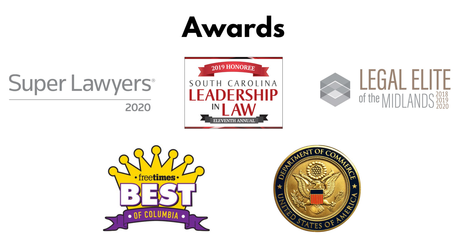 Awards won by the Law Office of Kenneth Berger
