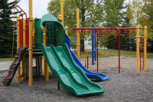 unsafe playground equipment