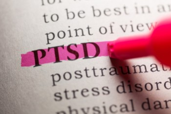 PTSD after a TBI is quite common.
