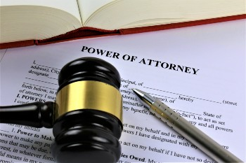 Power of attorney may be needed after a TBI.